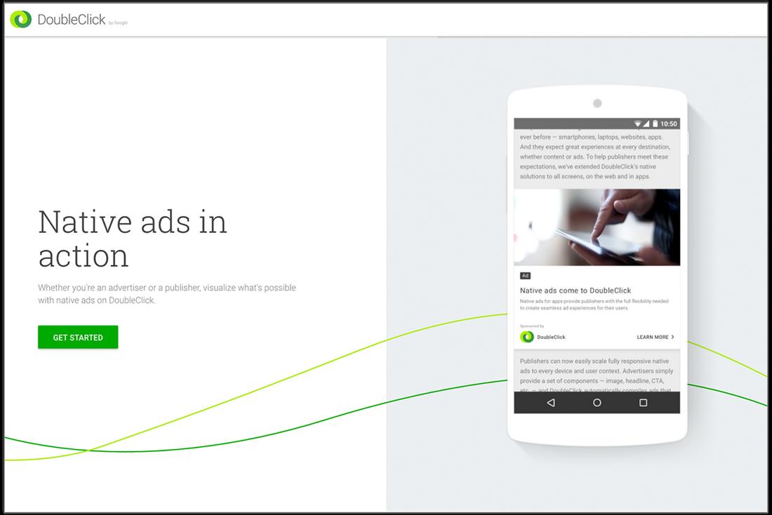 Traffick native ads